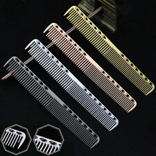 Aluminum Metal Cutting Comb Hair Hairdressing & Barbers Salon Professional Combs