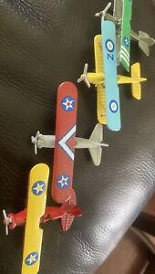 World War I Miniature Biplanes 4 collector's set Readers Digest