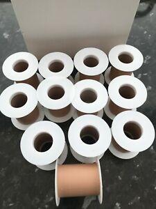 12 spools of waterproof plaster strapping 2.5 metres per spool bulkbuy savings