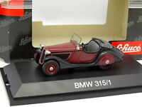 SCHUCO 1/43 - BMW 315/1 Red And Black