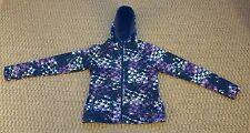 Columbia Titanium womens purple geometric pattern jacket size Medium