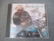 COUNTRY MUSIC CD ALAN JACKSON A LOT ABOUT LIVIN AND A LITTLE BOUT LOVE