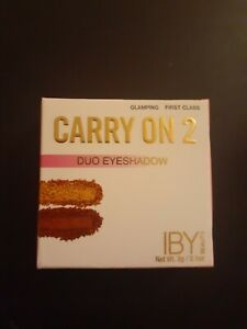 NEW IBY Beauty Carry On 2 Duo Eyeshadow Glamping & First Class