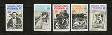 Micronesia Complete MNH Set #52, C21-24 Bob Hayes, Buccaneer Stamps