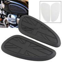 Universal Tank side Gas Pad Knee Grips Protector For Harley Triumph Motorcycles