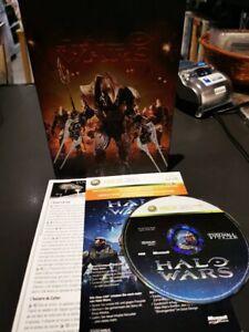 halo wars steelbook x box 360