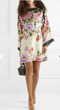 Gucci Silk Floral Twill Dress- With Tags- RRP$6,000 AUD