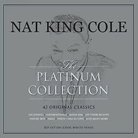 NAT KING COLE - PLATINUM COLLECTION - WHITE 180GR 3 VINYL LP NEW!