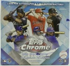 Topps Chrome Update Series Sapphire 2020 Edition Card Box