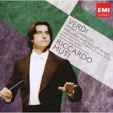 Riccardo Muti-Teatro dell'Opera cori, stimolano & balletto 2 CD merce nuova opera Verdi