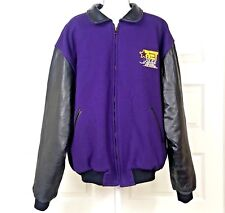 B.E.T Golden Bear Varsity Jacket sz XXL Wool Leather the cable jazz channel gold