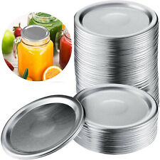 24 Pieces Replacement Ball Wide Mouth Mason Jar Lids,Wide Mouth Canning Lids