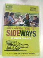 DVD SIDEWAYS IN VIAGGIO CON JACK  P. GIAMATTI CANDIDATO 5 PREMI OSCAR