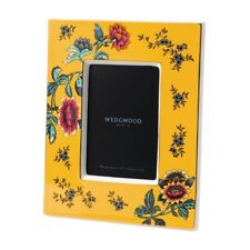 Wedgwood Wonderlust Yellow Tonquin Picture Frame New in Box