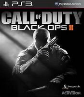 CALL OF DUTY BLACK OPS II (2)  PS3 -  PRISTINE - Super Duper Fast Delivery Free