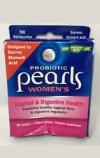 Nature's Way, Probiotic Pearls Women's, Vaginal And Digestive Health, 30 Softgel