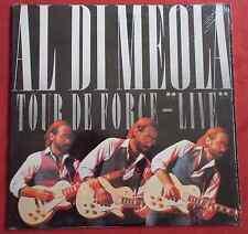 AL DI MEOLA LP ORIG US TOUR DE FORCE  LIVE