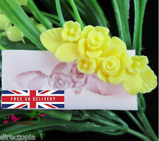 Flower Fondant Chocolate Acrylic Resin Silicone Mould Sugarcraft Mould