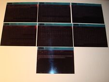 ROVER 400 SERIES(MAY.95on), 45(JAN.00) PARTS MICROFICHE FULL SET OF 7 JUN.2001