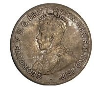 Vintage Coin Australia Penny 1920 Dot Above Bottom Scroll KM# 23