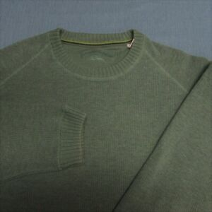 TOMMY BAHAMA CREWNECK COTON SWEATER-L--WRINKLE FREE--PERFECT!!--MINT!