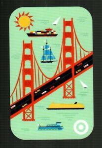 TARGET San Francisco Golden Gate Bridge 2019 Gift Card ( $0 ) [ 2650 ]