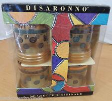 Disaronno Amaretto Originale 4 Glasses w Recipe Book In Box