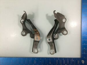 10-16 Hyundai Genesis Coupe Front Hood Left & Right Hinges Pair OEM E