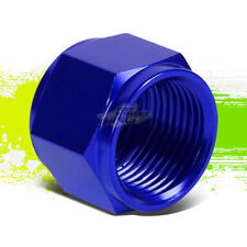 "BLUE 12-AN 3/4"" TUBE SLEEVE NUT FITTING ADAPTER FOR ALUMINUM/STEEL TUBING LINE"