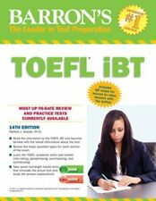 Barron's TOEFL iBT with Audio Compact Discs, 14th Edition (Barron's Toefl Ibt (