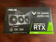 New listing Asus Tuf Nvidia GeForce Rtx 3060 Oc Edition 12Gb Graphics Card Free Shipping!