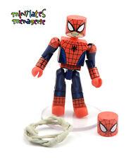 Marvel Minimates Walgreens Wave 1.5 Web Warriors Half-Masked Spider-Man