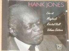 Hank Jones-Live At Maybeck Recital Hall, Vol. SIXTEEN-CD