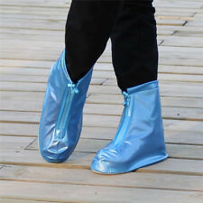 Waterproof Rain Shoes Cover Reusable BOOTS Flat Overshoes Covers Slipresistantg4 Red M