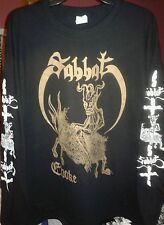 SABBAT-SHIRT EVOKE METALUCIFER ABIGAIL SIGH ENVENOM ABHORER BE PERSECUTED