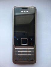 """2010 Original Nokia 6300 Silver SIM GSM 2"""" LCD 2mp Rm-217"""