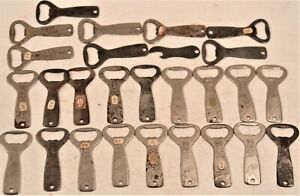 Large Lot Of 27 Vintage Advertising Beer Bottle Can Openers Tech-Pabst-Miller
