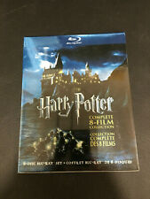 Harry Potter Complete 8-Film Collection (8-Disc Set BLU-RAY, 2011)  NEW Blu-Ray