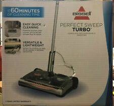 Bissell Perfect Sweep Turbo Cordless Rechargeable Sweeper 28809 Brand New