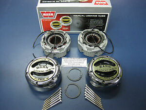 WARN 20990 4WD Premium Manual Locking Hubs Dana 44 Spicer Front Axle 1/2 3/4 Ton