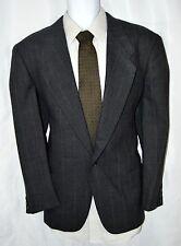Giorgio Armani Made in Italy Men 40R Single Button Sports Jacket Gray Pinstripe