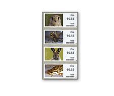 IRL1227 Wild animals 4 self-adhesives stamps MNH IRELAND 2012