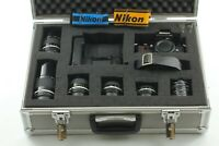 【Near MINT++ in Case】Nikon F3HP Film Camera w/Nikkor Lens 5P+ MD-4 from JAPAN