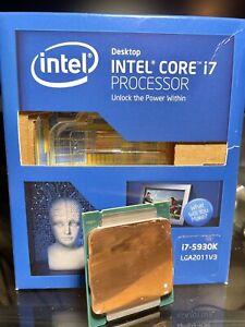 Intel Core i7-5930K 3.5GHz 15MB Cache Processor BX80648I75930K