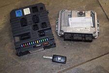 PEUGEOT 207 moteur ECU & Key Kit 9663475880 & 9663798380 (L1-3B)