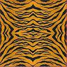 Foglio IN Carta Di Riso / Tigre / Zebra/ Stamperia / 107