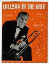 GLENN MILLER Sheet Music 1942 Lullaby Of The Rain