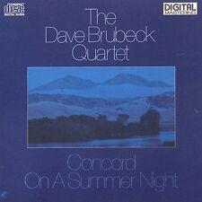 THE DAVE BRUBECK QUARTET - CONCORD ON A SUMMER NIGHT - Hybrid SACD