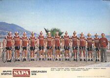 TEAM SAPA 1979 Cyclisme ciclismo cycling Equipe Cycliste Ciclista AMADORI ALGERI