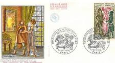 1972-FDC 1°JOUR - HISTOIRE DE FRANCE-INCROYABLE ET MERVEILLEUSE - TIMBRE Yt.1729